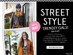 TRENDIY Art | Be the best face of Street Style: TRENDIY on!